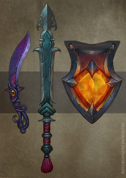 Weapons concept 03 by FirstKeeper