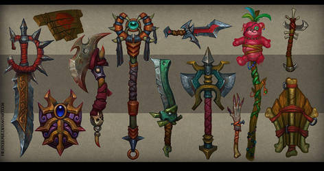 Weapons concept 04 by FirstKeeper