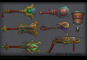 Weapons MoP by FirstKeeper