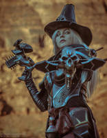 Valla Vampire Hunter cosplay 02 by FirstKeeper