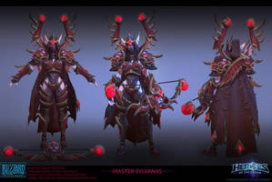 Sylvanas Master skin by FirstKeeper