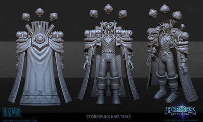 Steampunk Kael'thas Hipoly by FirstKeeper