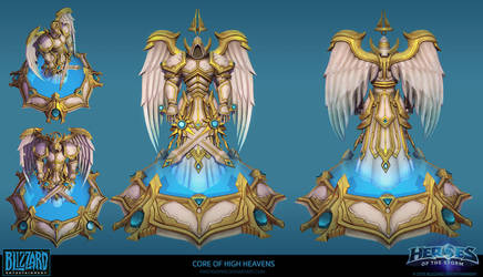 Heaven Core Final by FirstKeeper