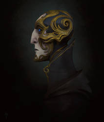 Faberge head by FirstKeeper