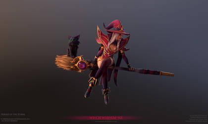 Whitemane Witch Final 02 by FirstKeeper