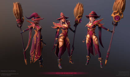 Whitemane Witch Final by FirstKeeper