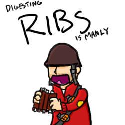 DIGESTING RIBS by SupaSoldier