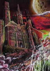 Exham Priory by FatherStone