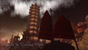 Shanghai - Oriental Steampunk by TotalLunarEclipse