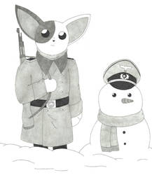 Puppies At War -  Happy Holidays! by SIR-LANIED94