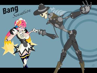 Gashi-Gashi Tribute: Bang Sensation by Spectral-Beanie