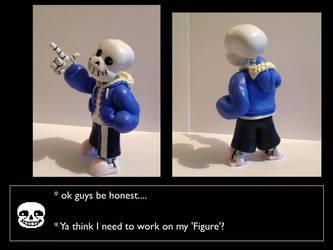 Undertale: Sans The Skeleton Figurine by Spectral-Beanie