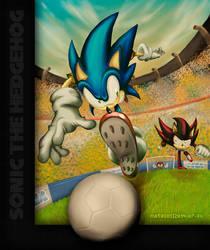 Sonic in Brazil by Tecoart