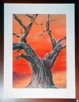 dechirure     (Pastel 30x40) by modit
