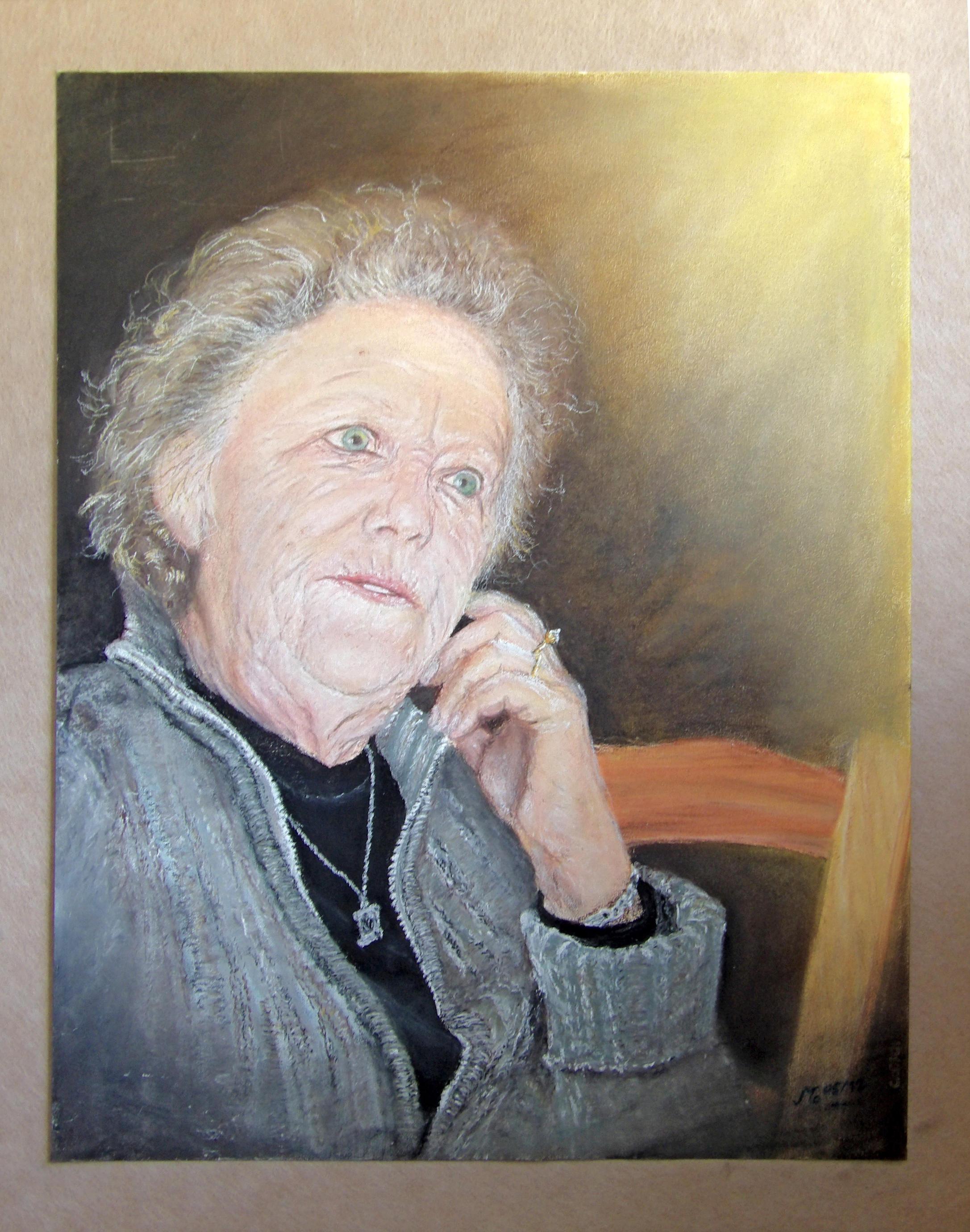 Josette            (pastel 60x80) by modit