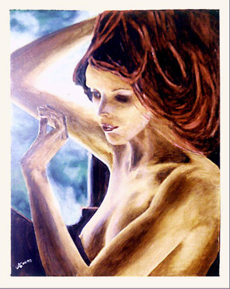 La Fille au Miroir by modit