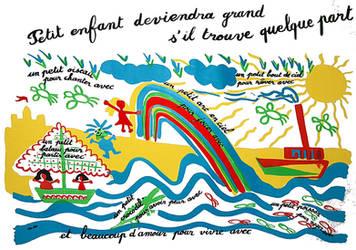 Affiche  ecole Maternelle by modit