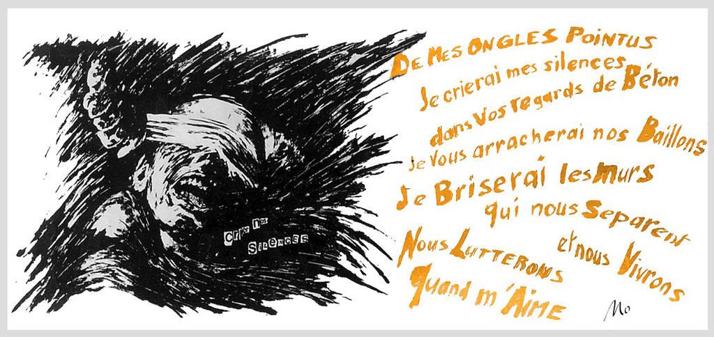 Crier nos silences + texte by modit