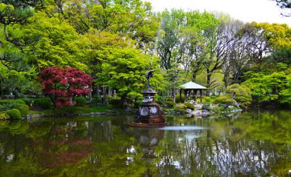Hibiya Lake by Nature-And-Things