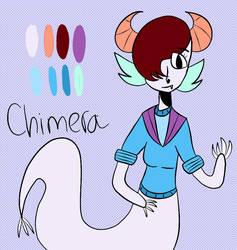 Chimera OC by Yeetymon