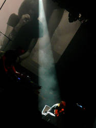 portishead live by Fucksia-Kia