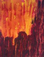 Apocalyptic Skyline by crazyruthie