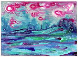 Fever Sunrise collaboration by crazyruthie