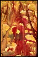 Desert Corrosion Postcard by crazyruthie