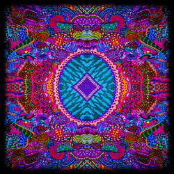 Psychedelic Kaleidoscope by crazyruthie