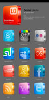 Candy media icons by TIT0