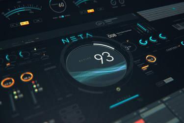 NETA: Modern virtual instrument UI Kit by TIT0