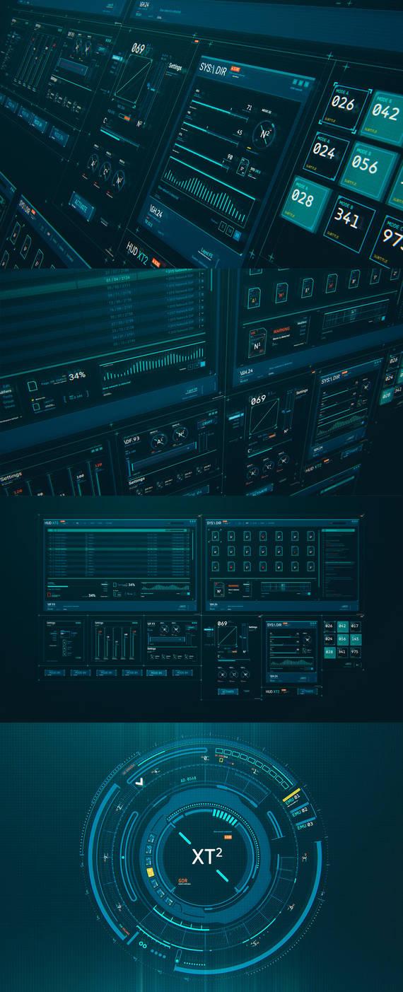 HUD GUI Kit XT2 by TIT0