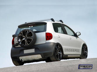 VW Cross Fox Tuning by DCdeco