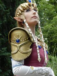 Twilight Princess Zelda (First Look) by CelestialExploring