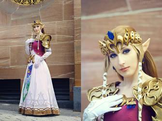 Princess Zelda by CelestialExploring