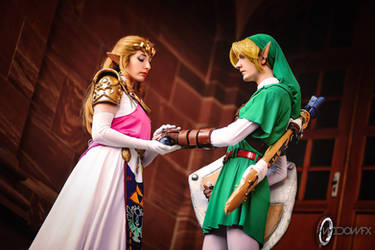 Link... Give the Ocarina to me... by CelestialExploring