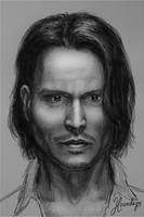 Johnny Depp by Lenka-Slukova