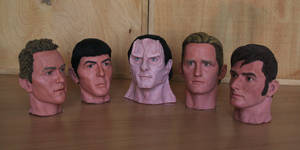 My Best Heads by Lenka-Slukova