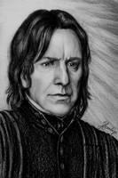Professor Snape by Lenka-Slukova
