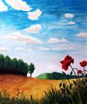 Summer Field by Lenka-Slukova