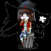 VtM - chibi_Clan Gangrel by zero0810