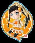 Orange chibi by zero0810