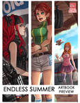 Endless Summer Artbook - 2nd entry preview [+link] by zero0810