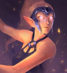 Elf Girl by kanovsky