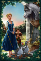 Fairy Tale 3 The Goose Girl by MBoulad