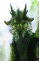 Gama's Forest, Gama closeup by wredwrat