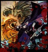 Devil Summoner Deathmatch by wredwrat