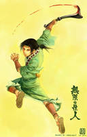 Blade of the Immortal: Anotsu by wredwrat