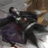 Raido's Scar by wredwrat
