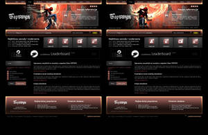 website layout 79 double by tehacesequence